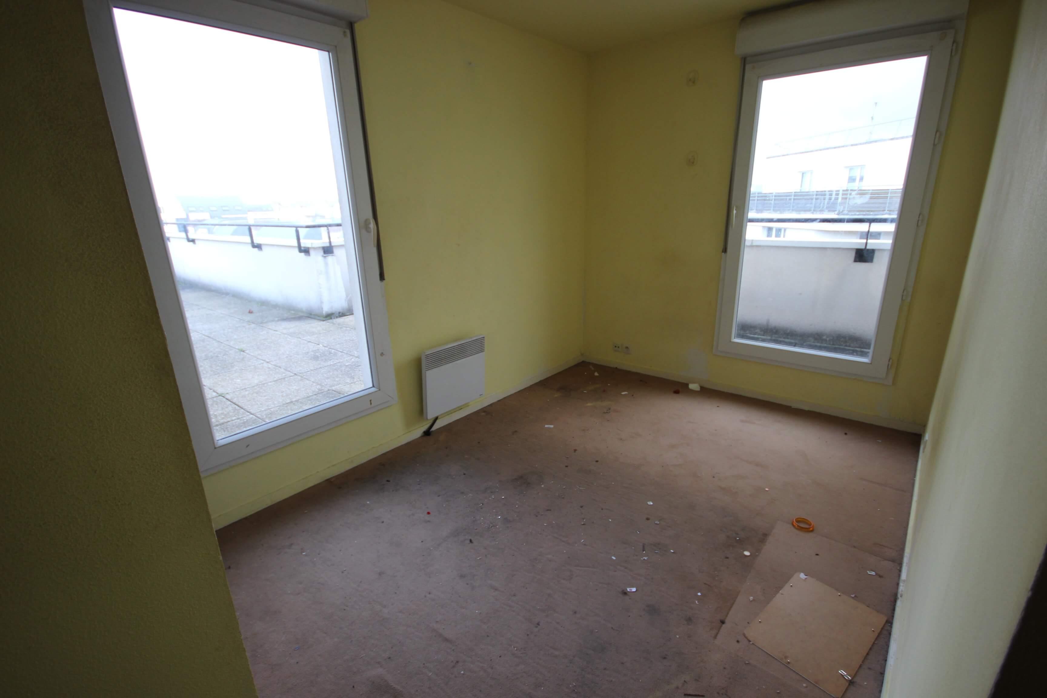Chambre 2 avant rénovation