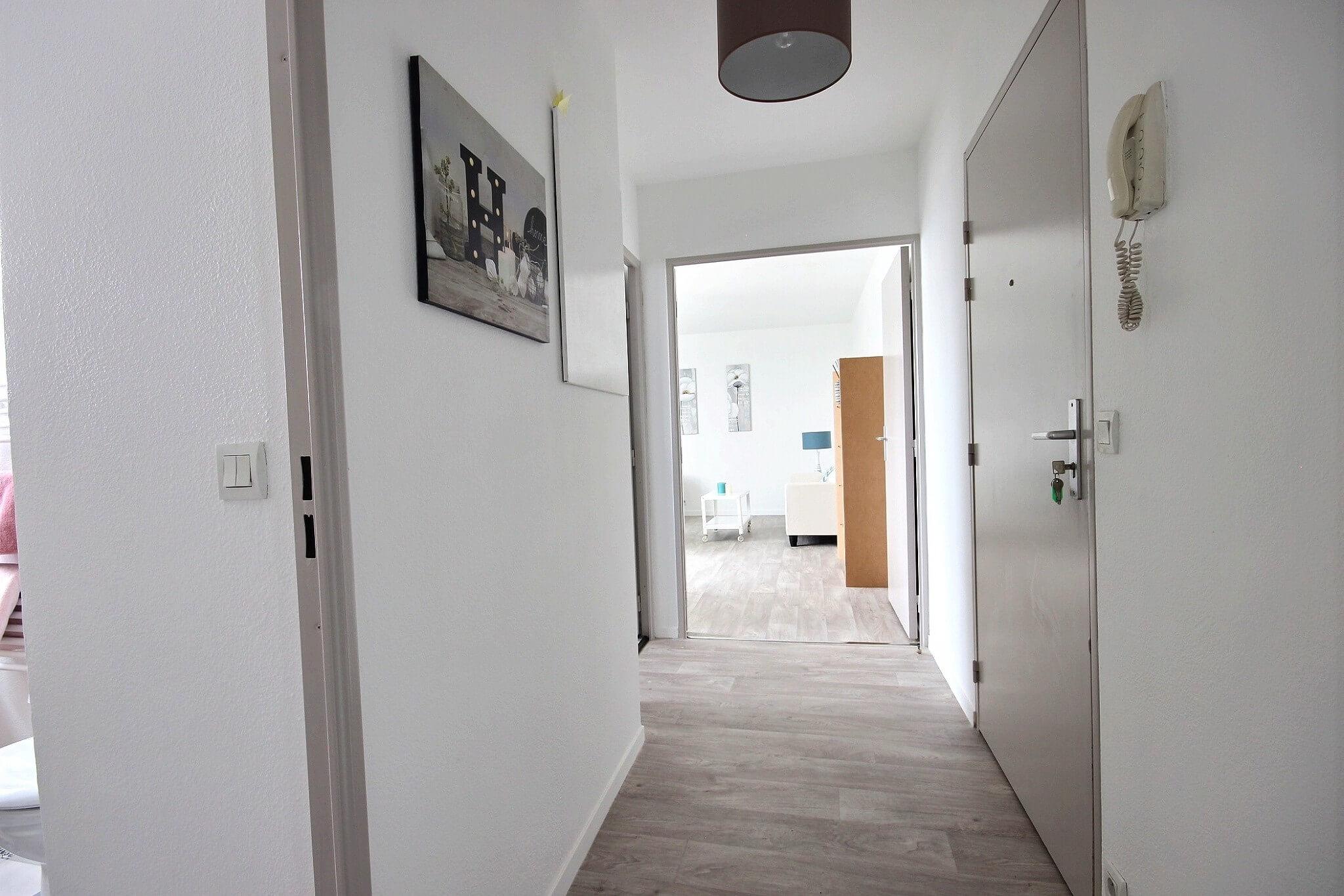 Entré appartement après rénovation