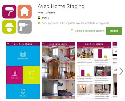 Application Home Staging Store