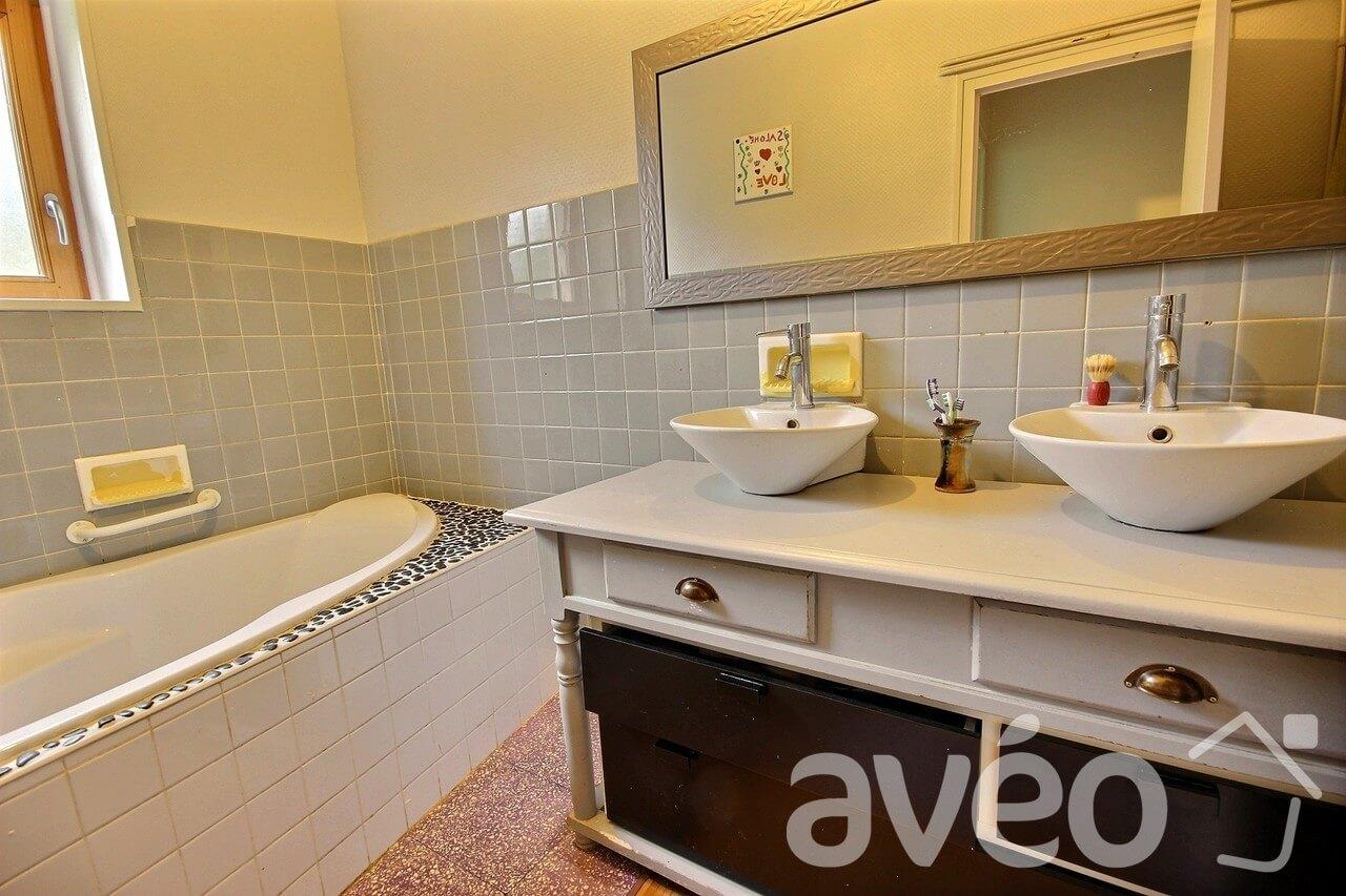 Salle de bains après Avéo Lyon Est
