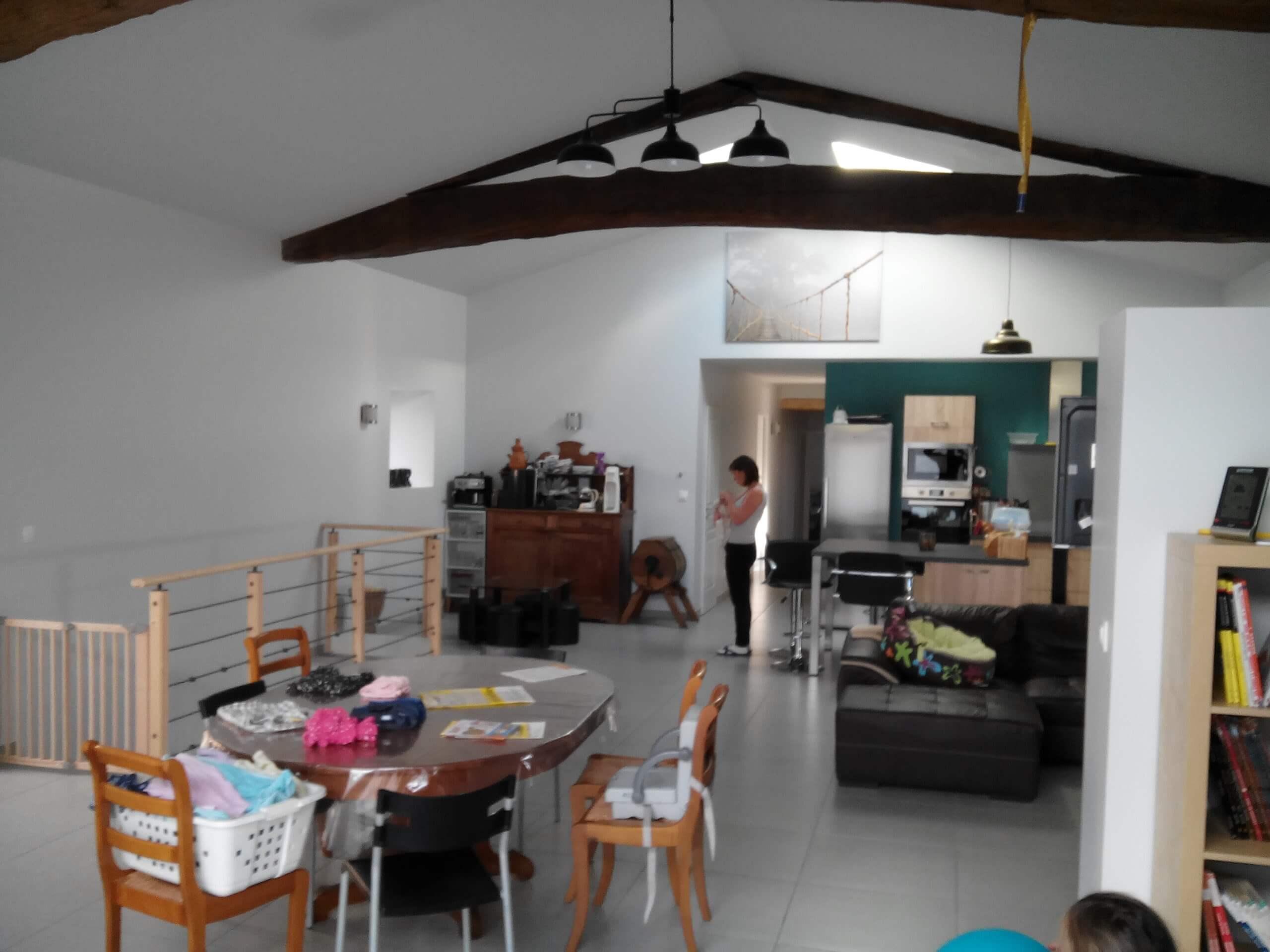 am nagement d 39 une grange saint etienne home staging av o. Black Bedroom Furniture Sets. Home Design Ideas