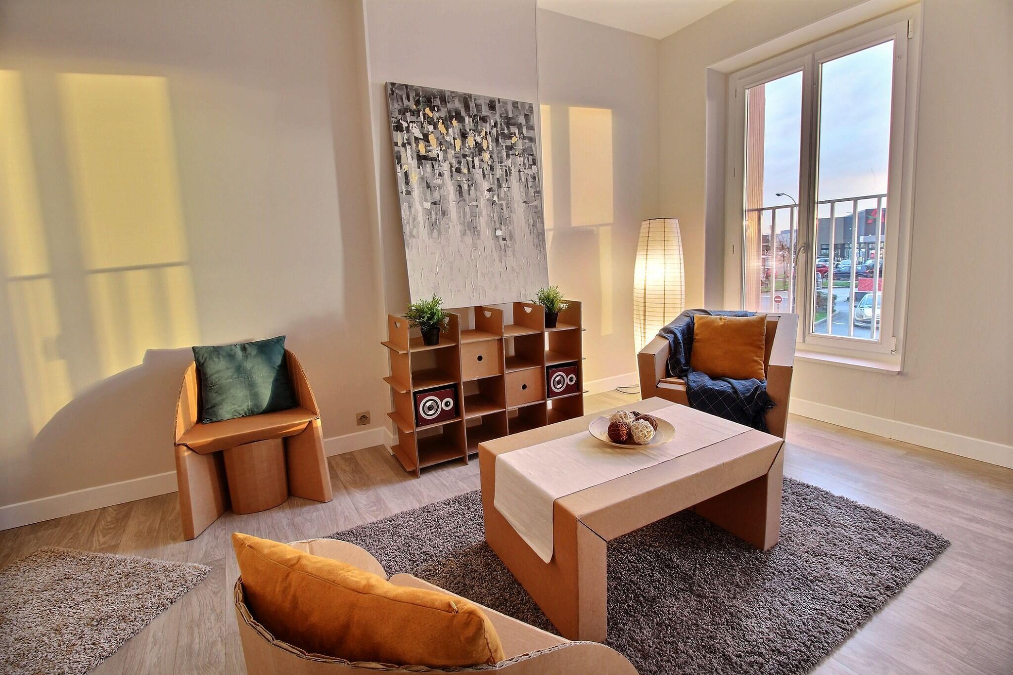 Home Staging Maisons-Laffitte réalisé par Avéo, région de Paris
