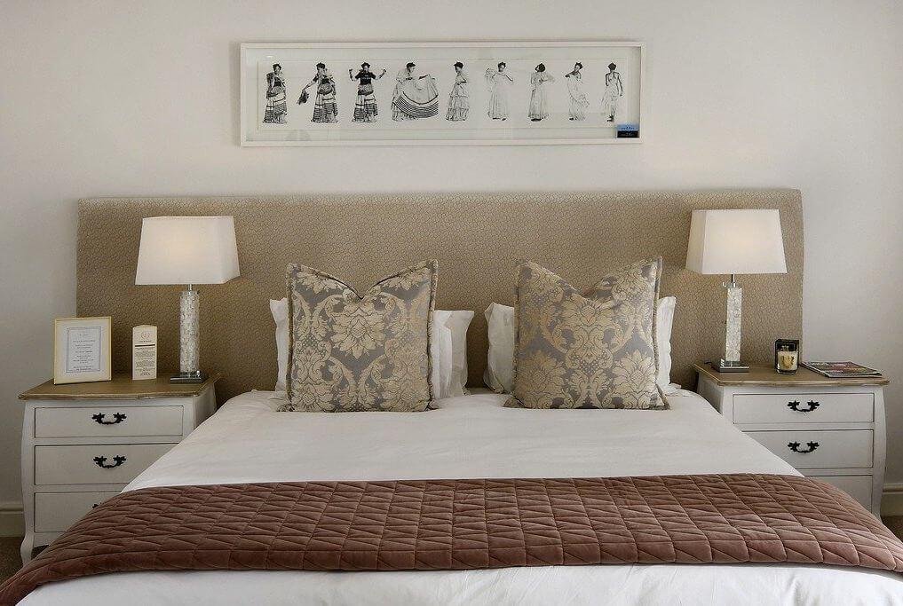 Positionnement du lit Feng Shui chambre à coucher