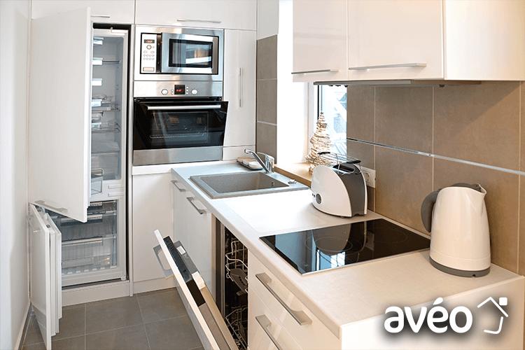 Aménagement petite cuisine avec Avéo